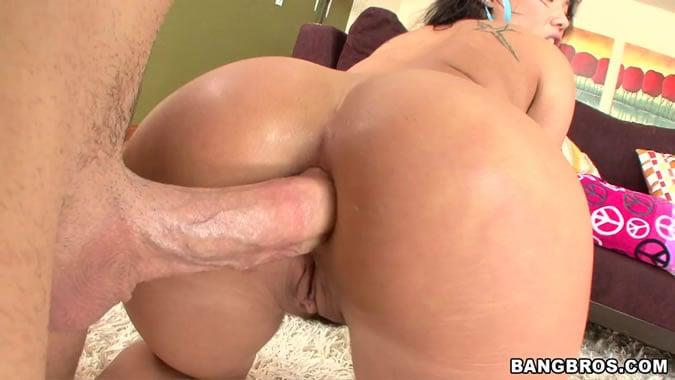 Anal sex bubble butt